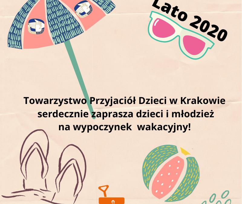 Wakacyjne oferty dla dzieci i młodzieży- lato 2020
